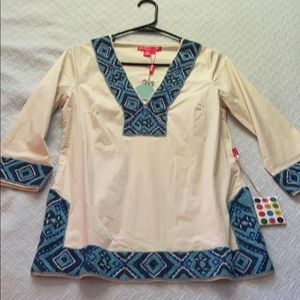 Beach blouse NWT size small